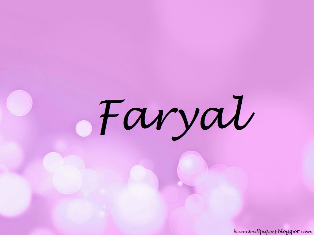 Faryal Name Wallpaper
