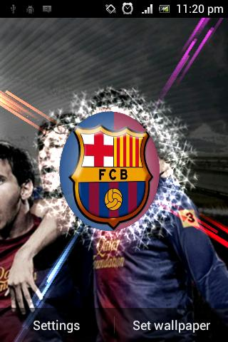 Fc Barcelona Live Wallpaper