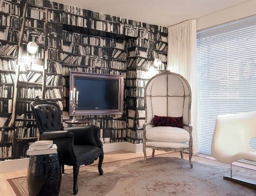 Feature Wall Wallpaper Designs