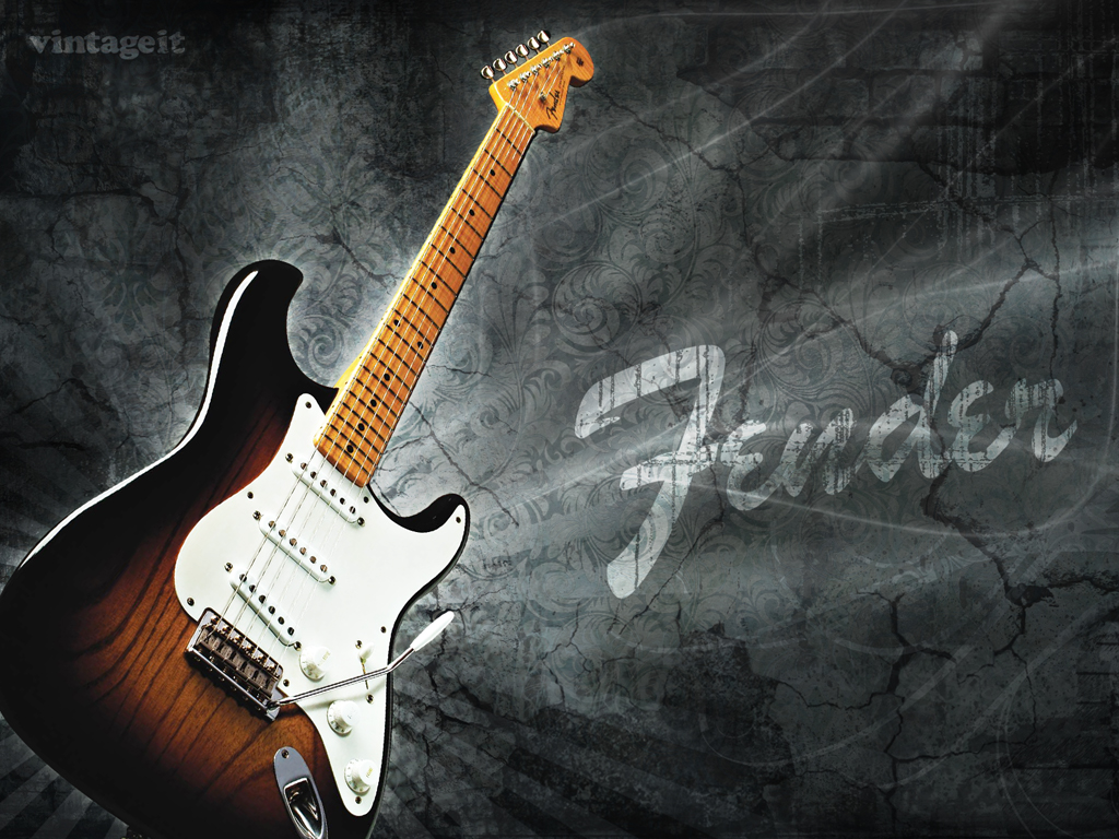 Fender Guitar Wallpaper