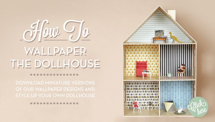 Ferm Living Dollhouse Wallpaper