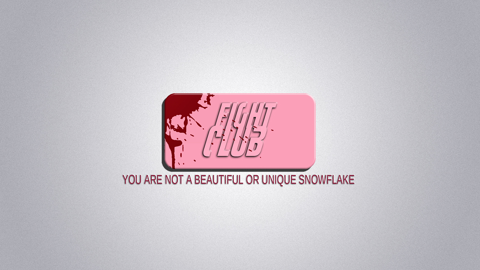 Fight Club Soap Wallpaper