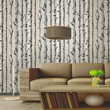 Fine Decor Birch Tree Wallpaper