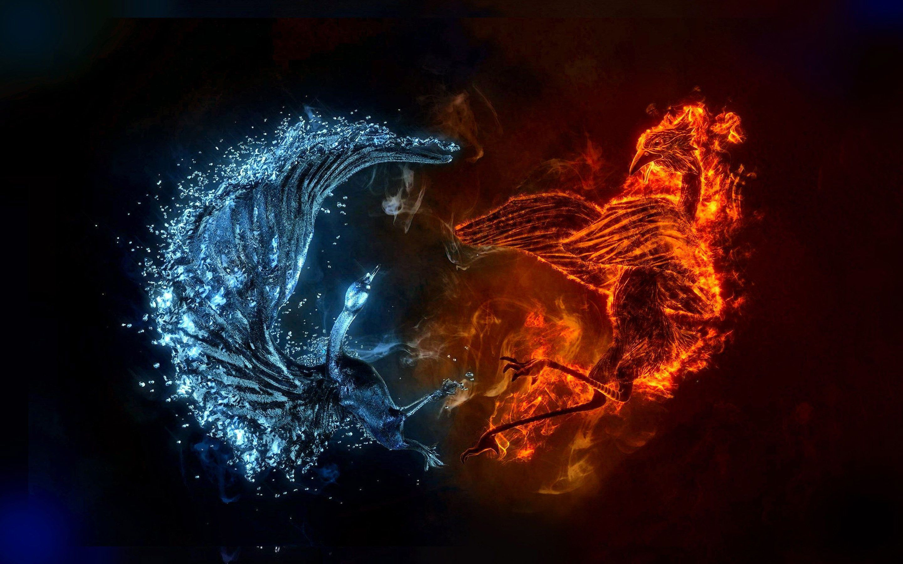 Download Fire And Water HD Wallpapers Gallery