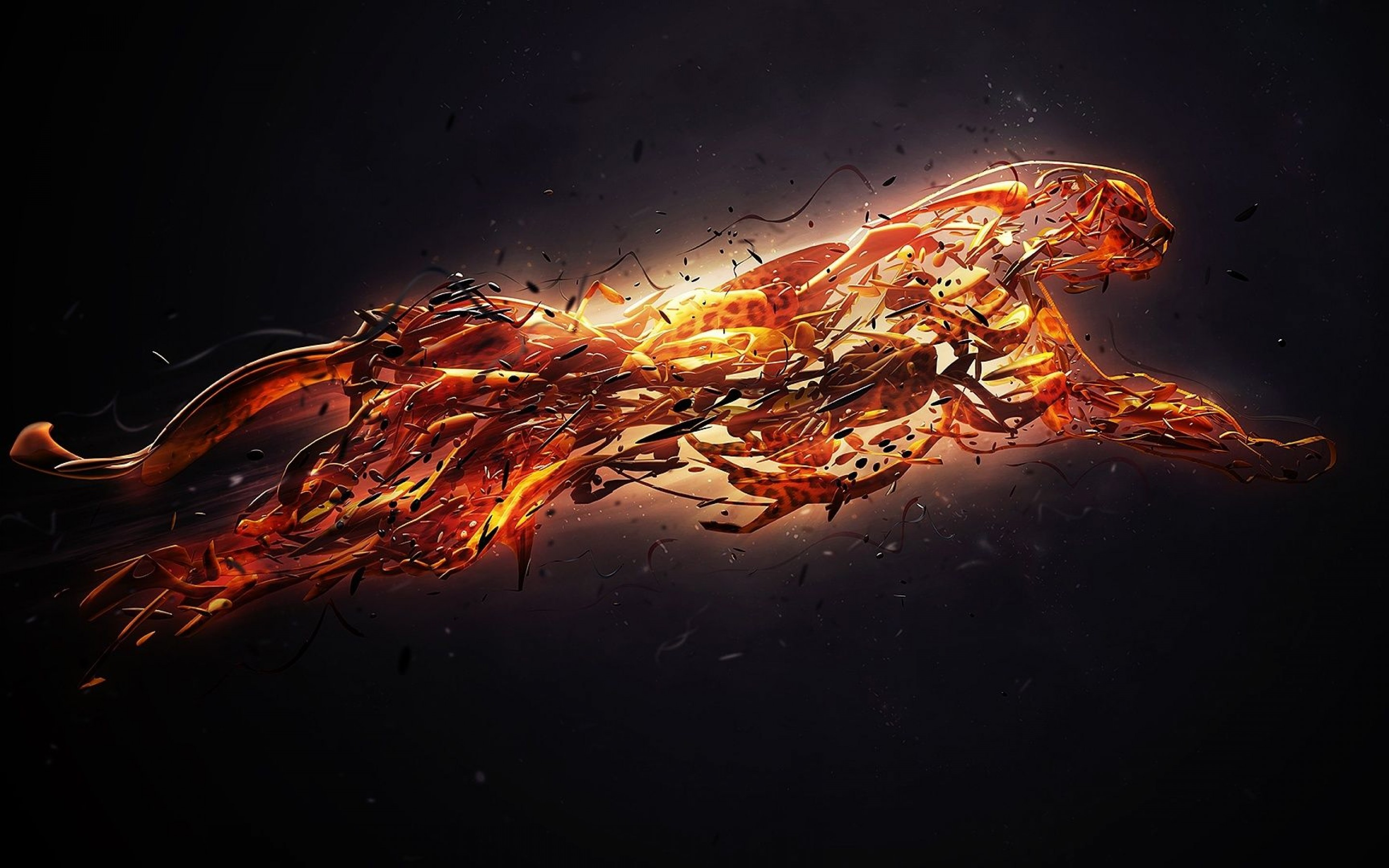 Fire Art Wallpaper