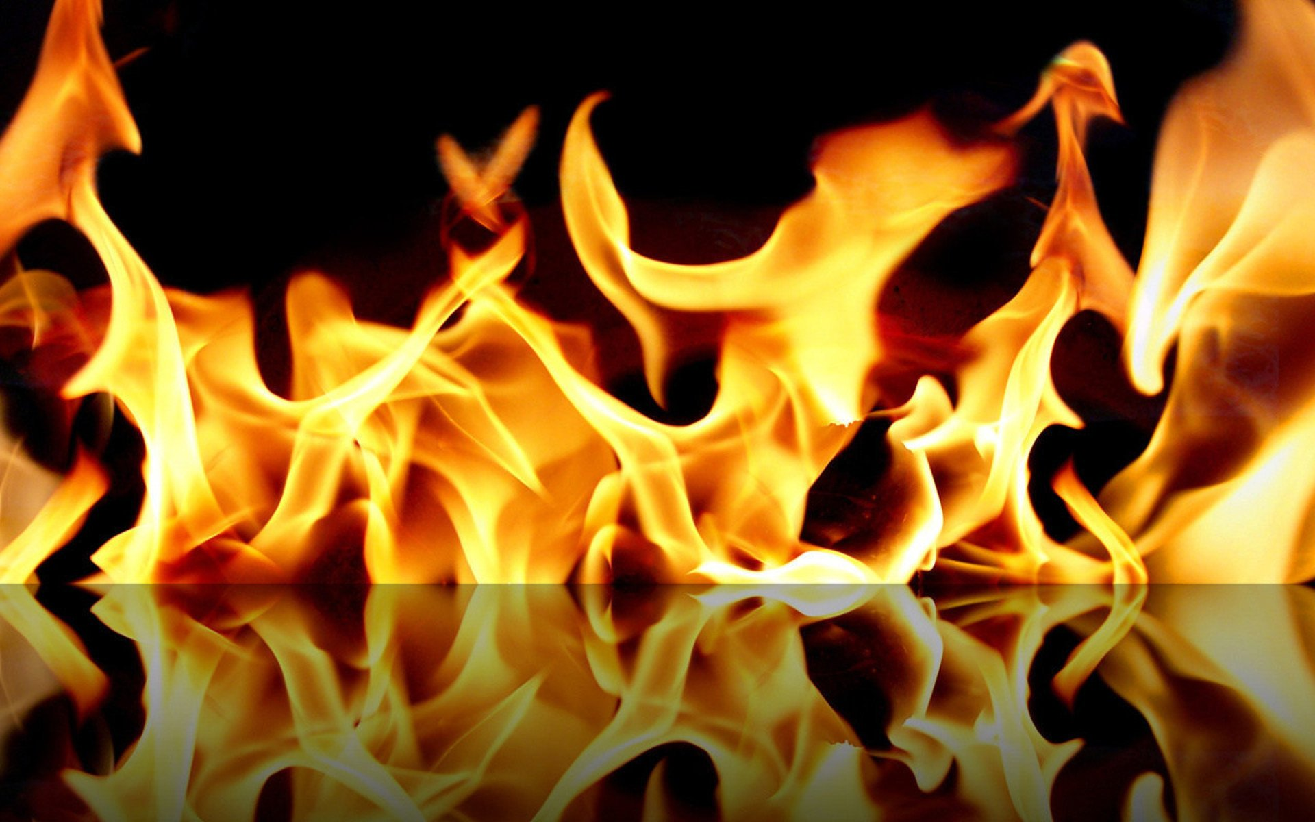 Fire Burning Wallpaper
