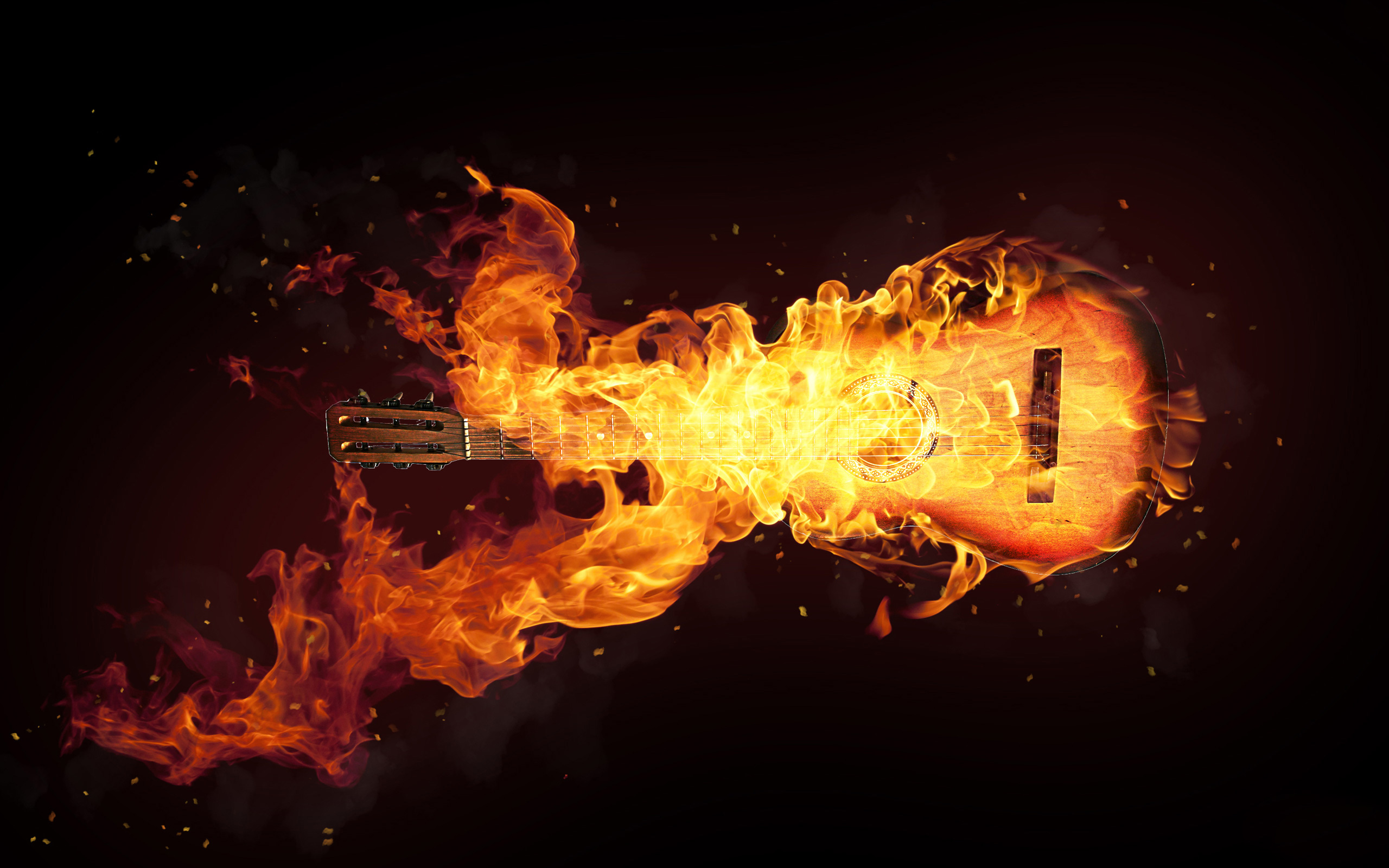 Fire Effect Wallpaper