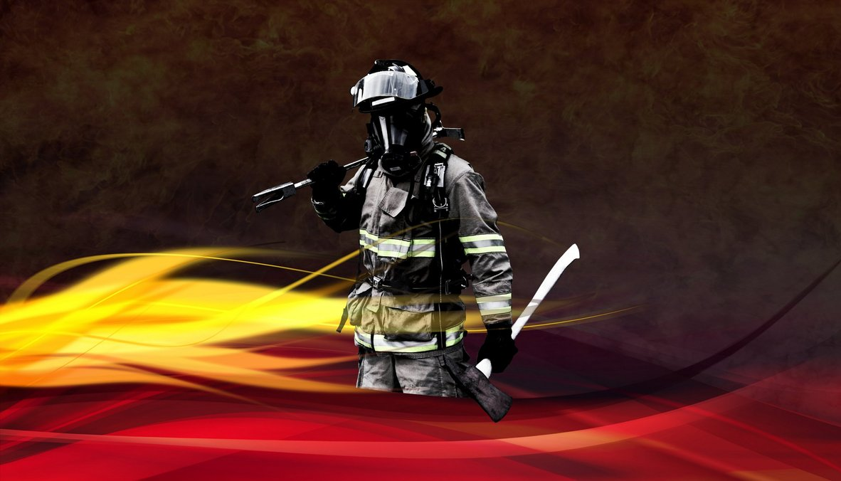 Fire Fighter Wallpaper