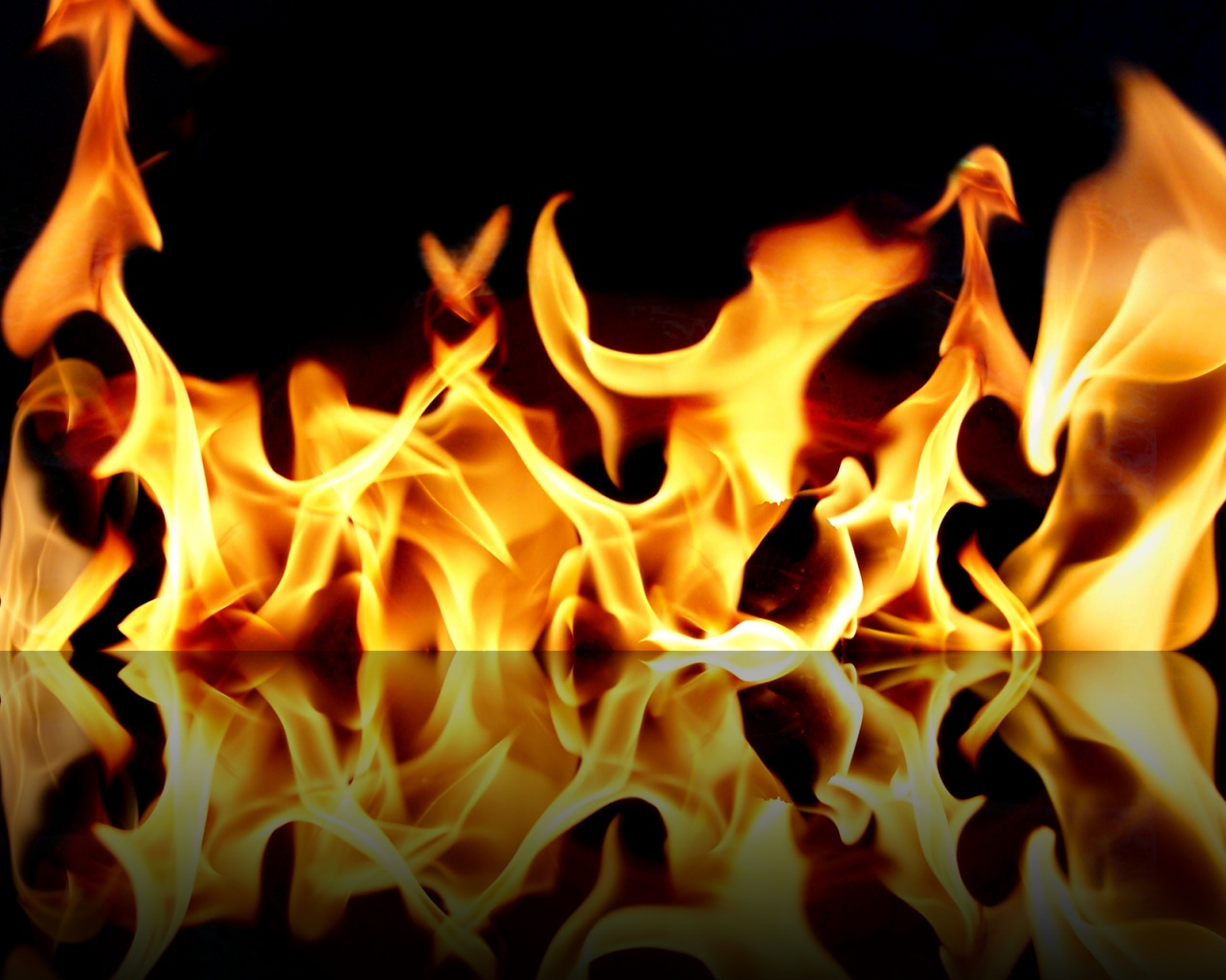 Fire HD Wallpaper 1280x1024