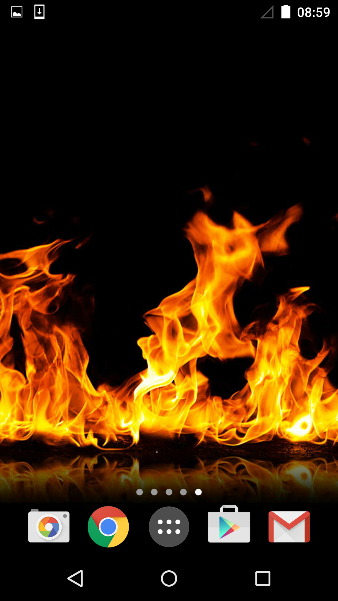 Fire Live Wallpaper Apk