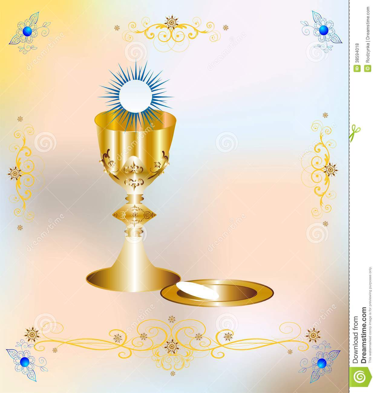 First Holy Communion Wallpaper