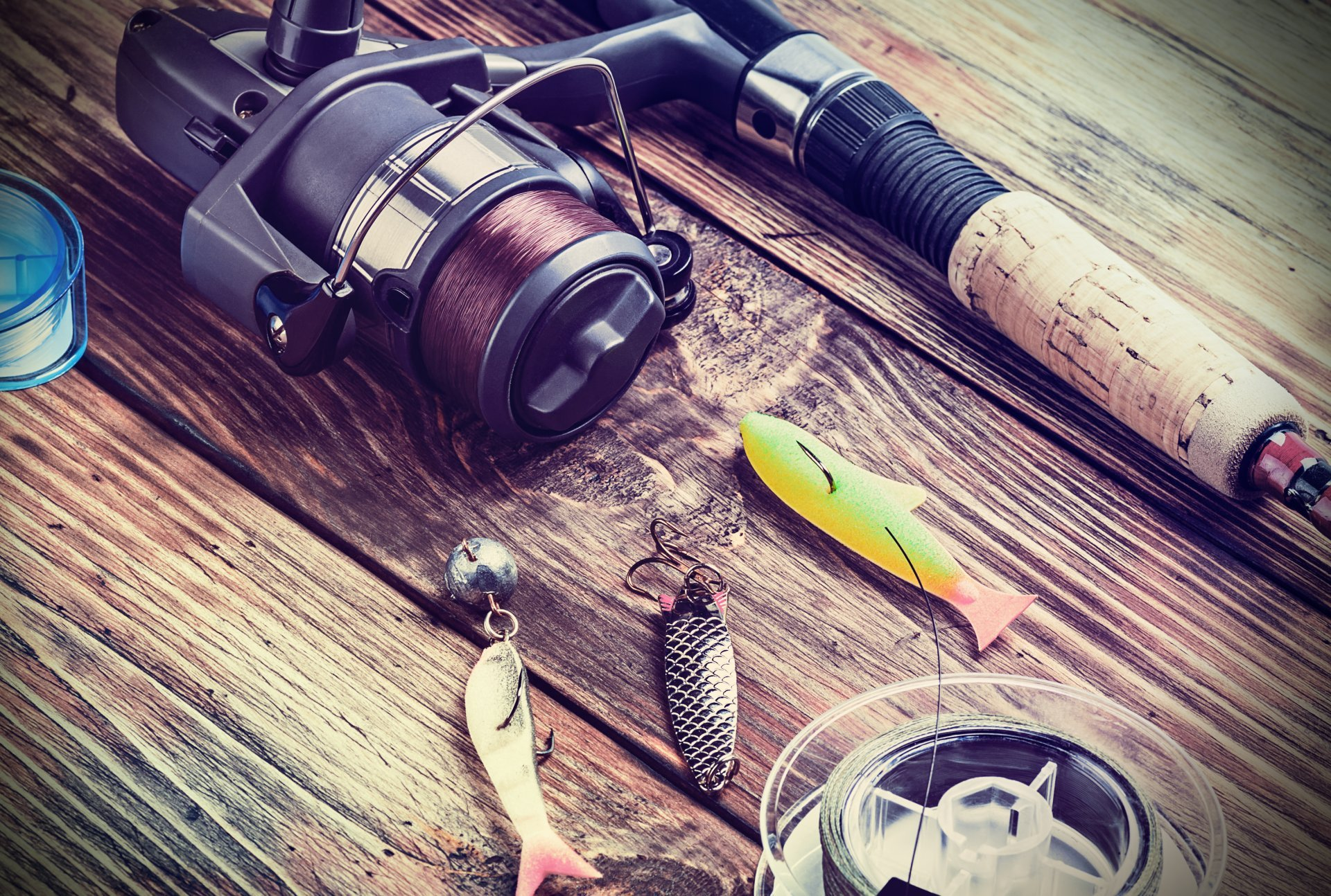 Fishing Rod Wallpaper