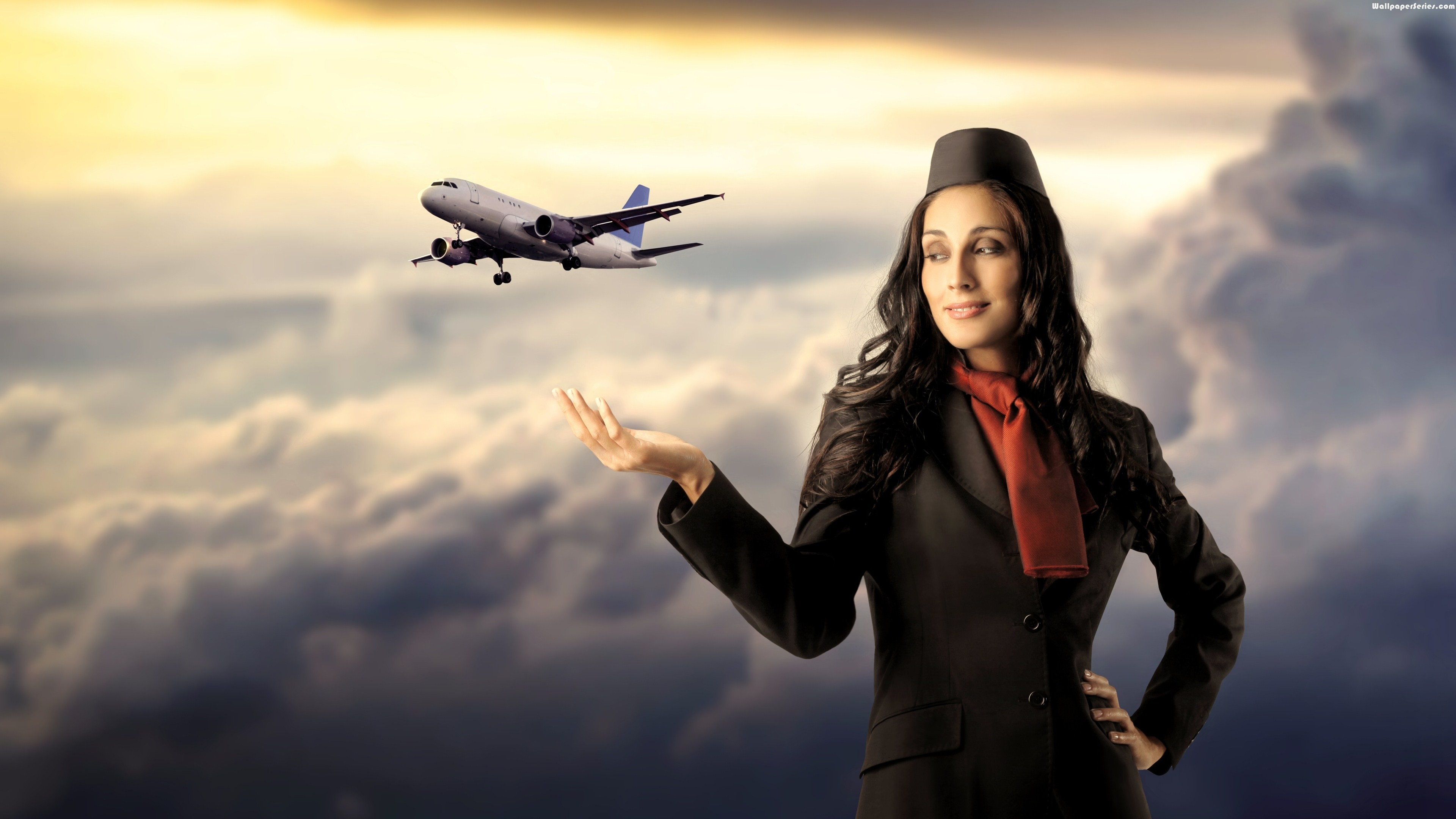 Flight Attendant Wallpaper