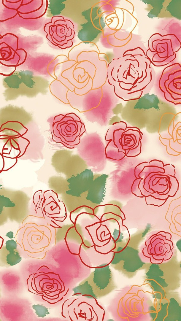 Download Floral Wallpaper For Iphone 5 Gallery