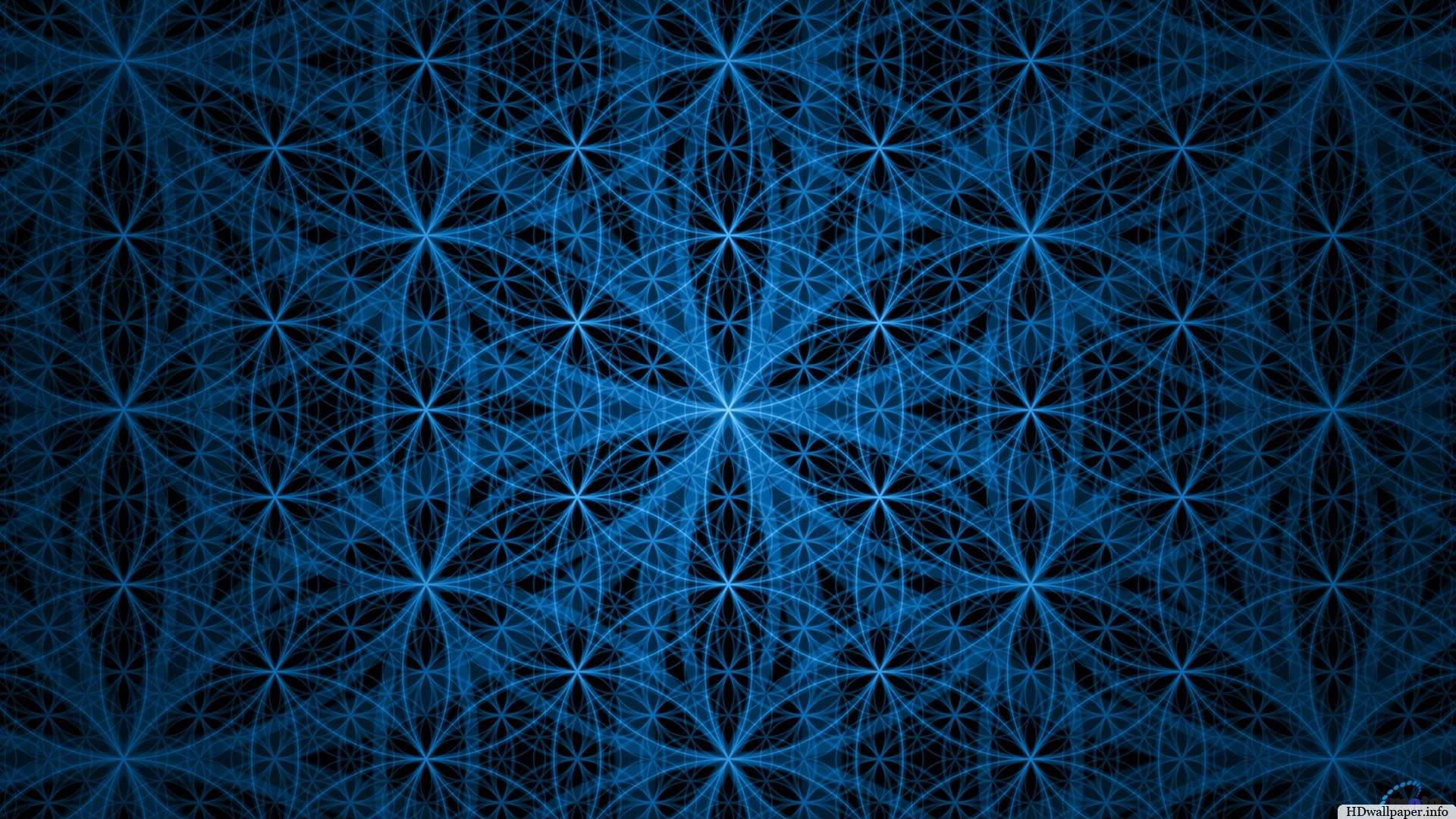Flower Of Life HD Wallpaper