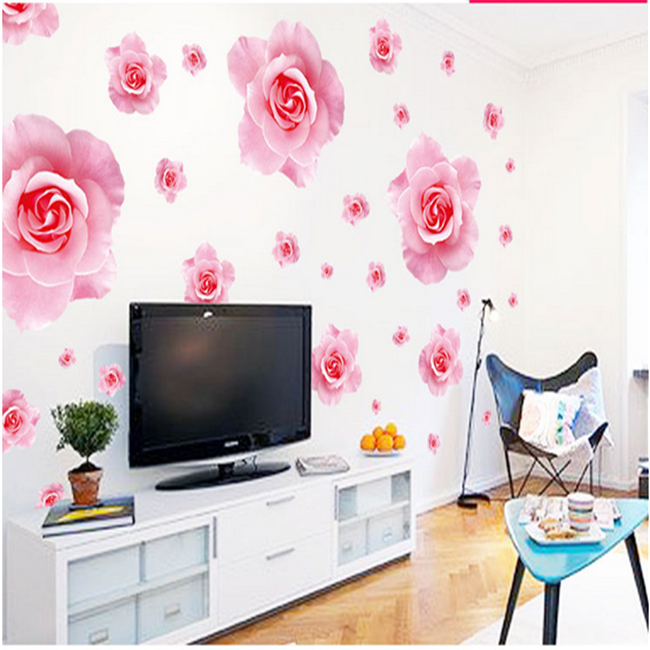 Flower Wallpaper Home Decor