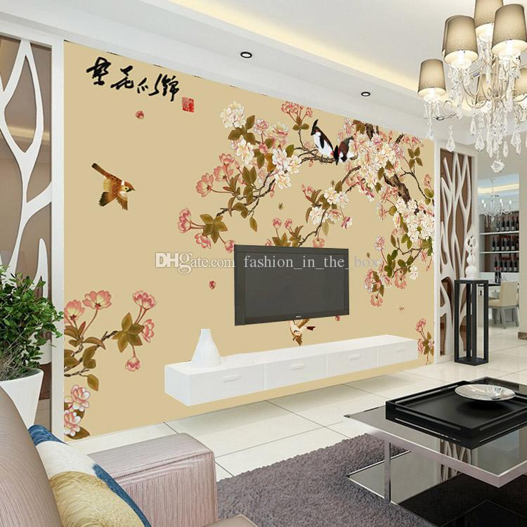 Old Fashioned Wallpaper Designs For Living Room India Motif Wall