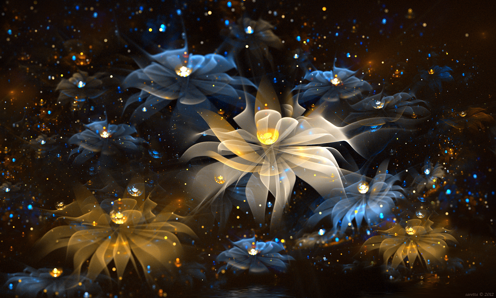 Flowers Animation Wallpaper