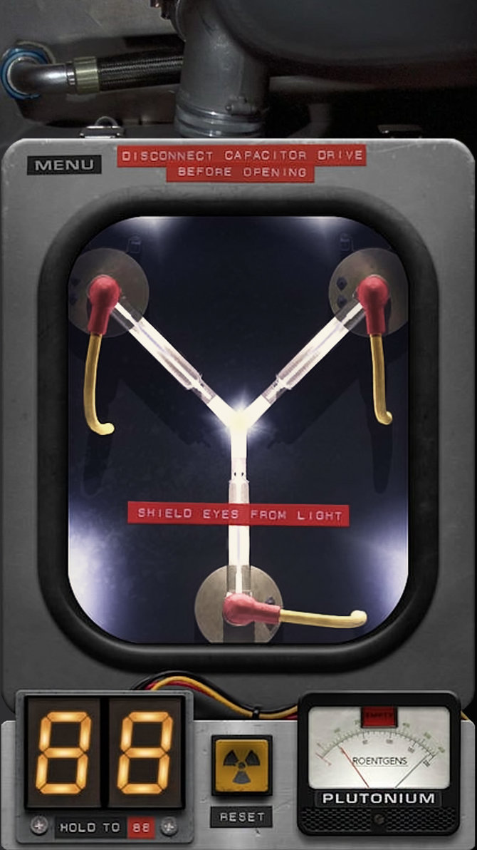 Flux Capacitor Iphone Wallpaper