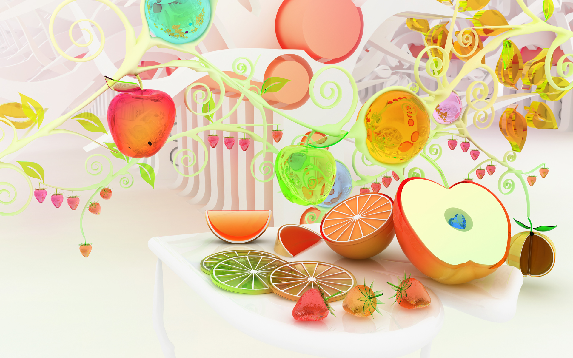 Food Art Wallpaper