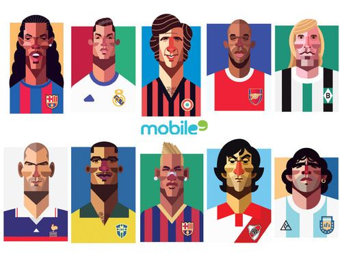Football Legends Wallpaper