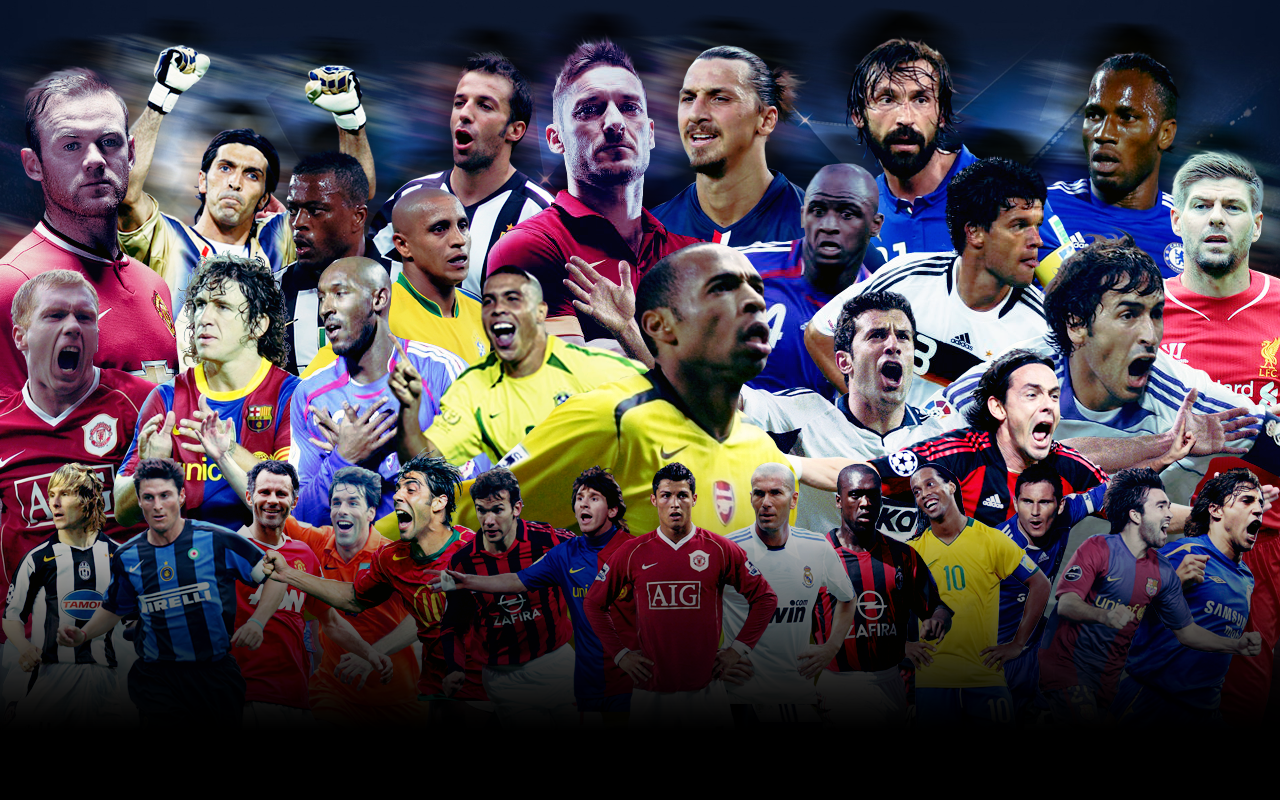 Download Football Legends Wallpaper Gallery