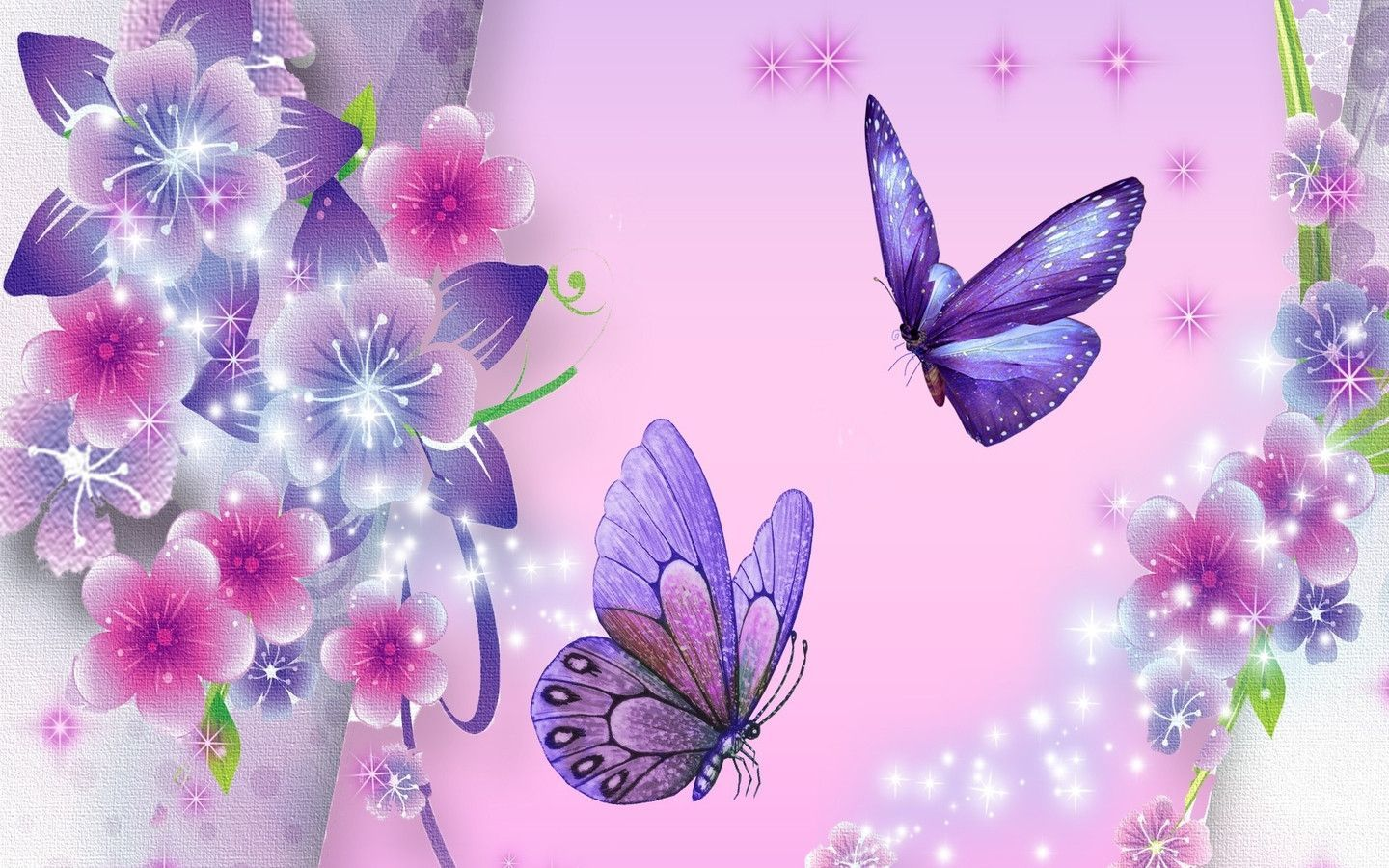 Free Butterflies Wallpaper