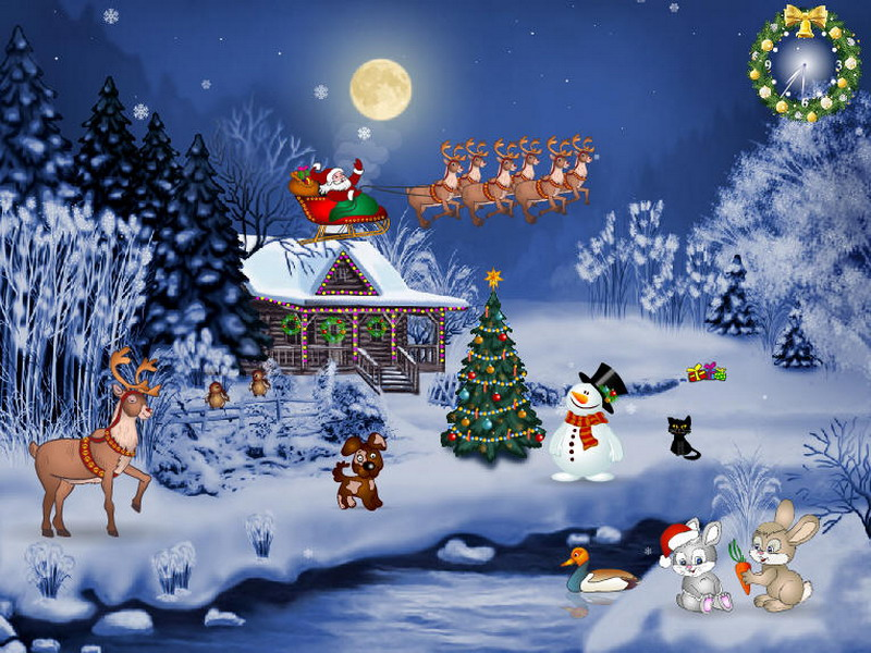 Free Christmas Wallpaper And Screensavers