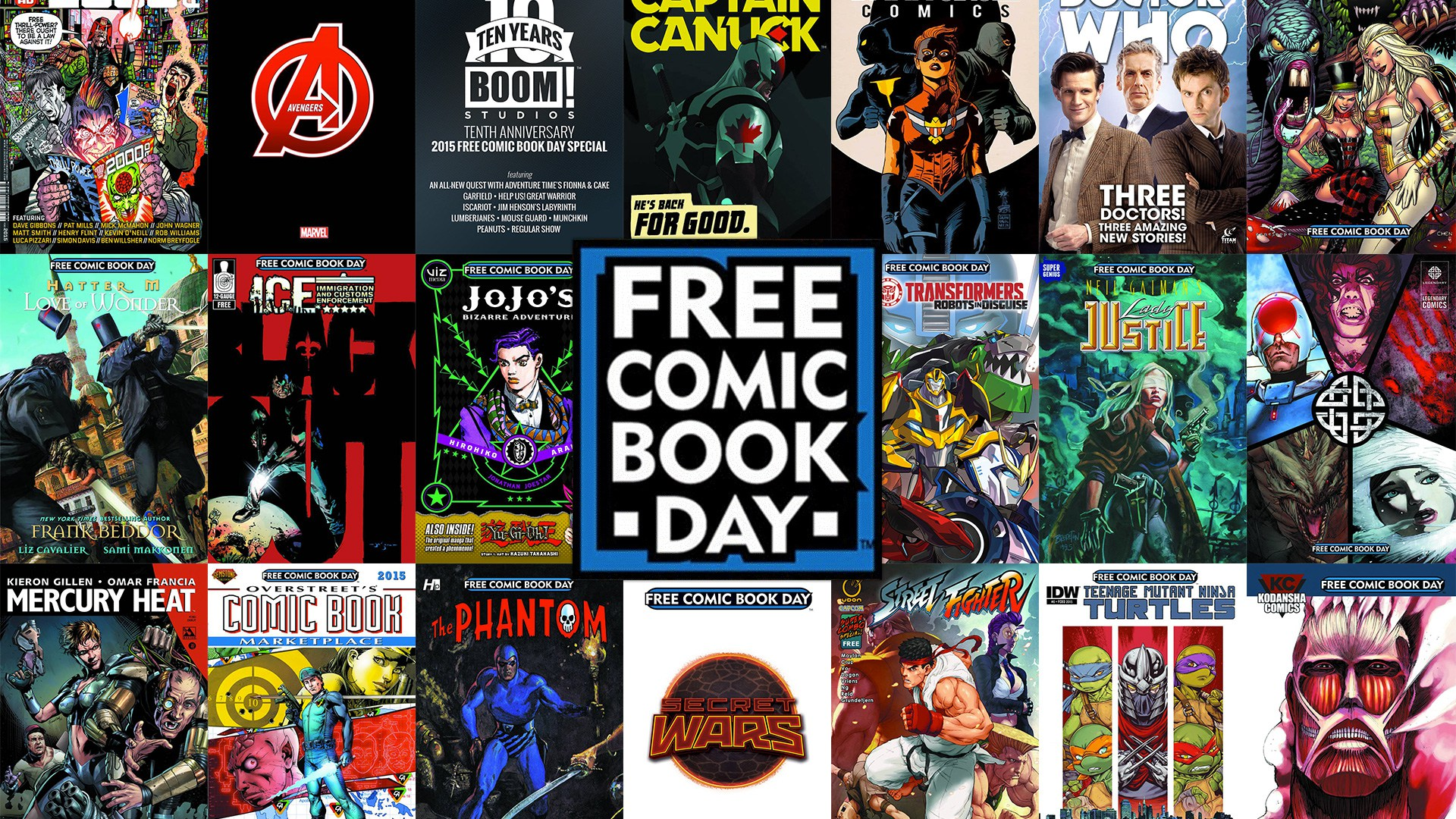 Free Comic Book Wallpaper