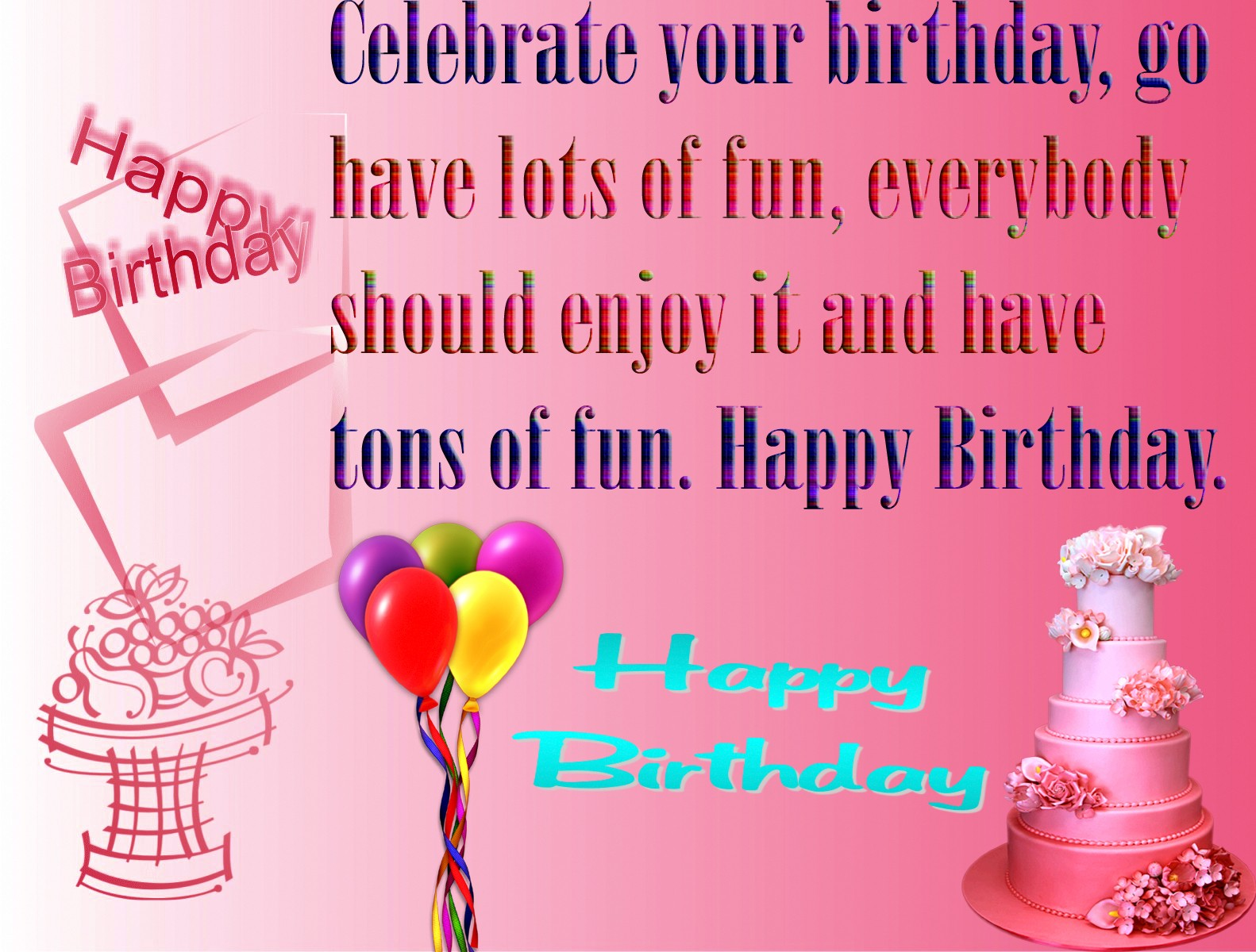 Download Free Download Birthday Wishes Wallpapers Gallery