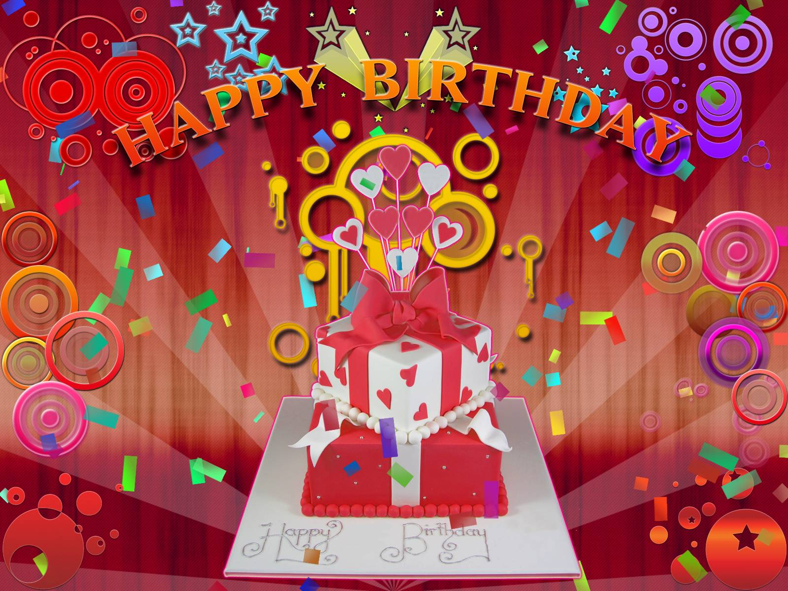 Free Happy Birthday Wallpapers