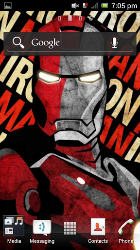 Free Iron Man Live Wallpaper