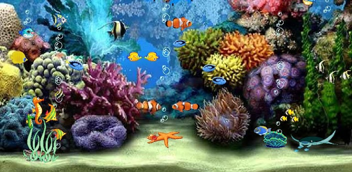 Free Live Aquarium Wallpaper