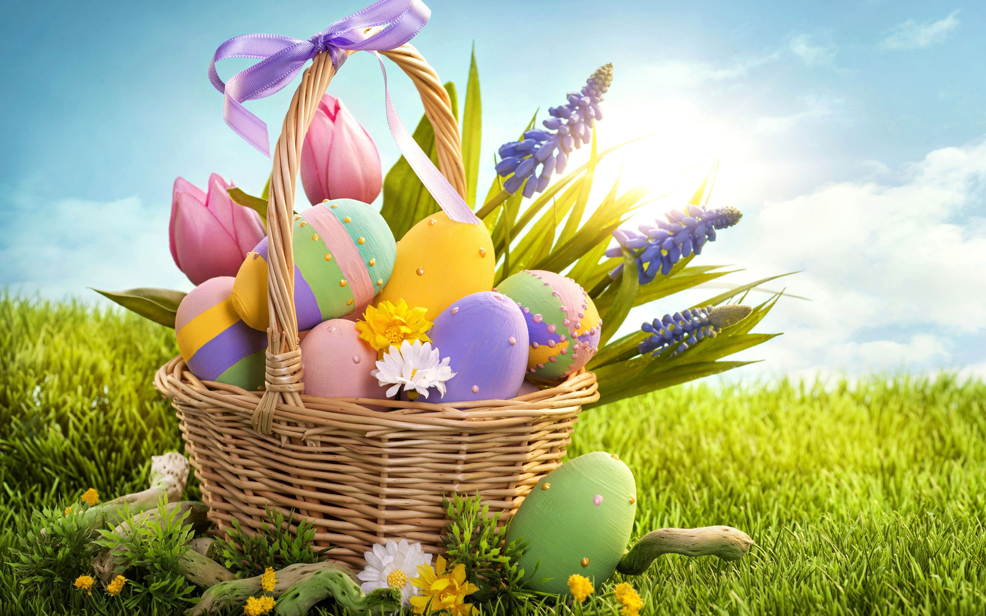 Free Live Easter Wallpaper