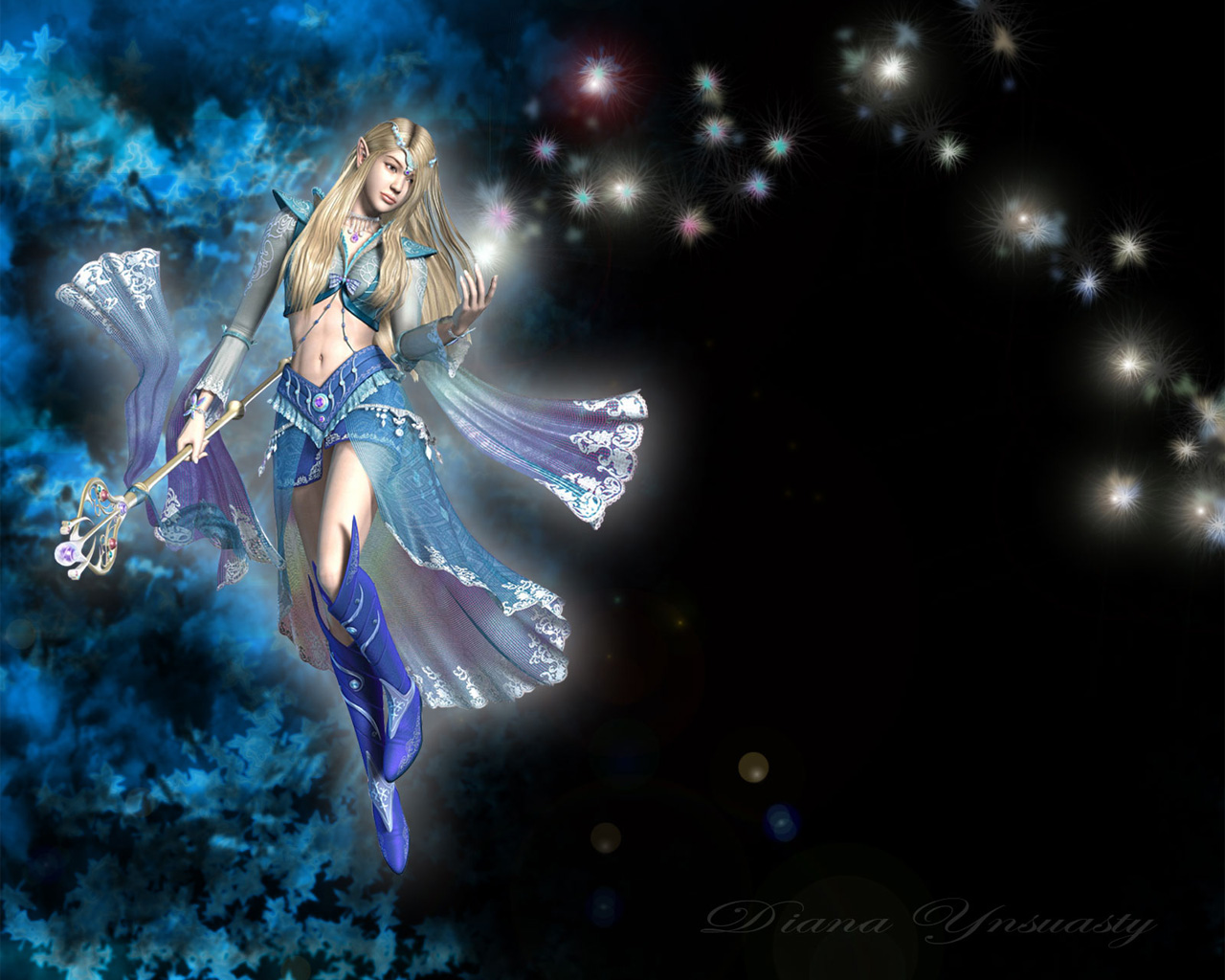 Free Live Fairy Wallpaper