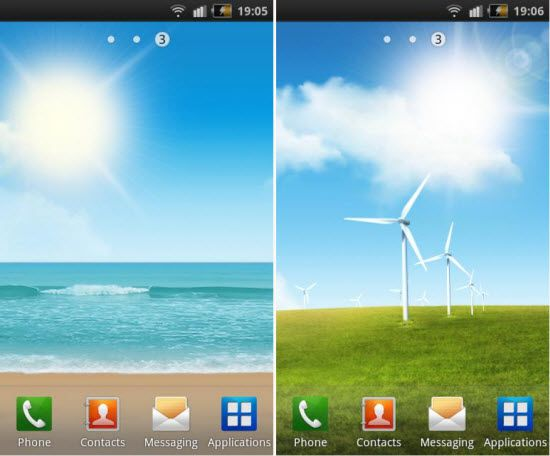 Free Live Wallpapers For Samsung Galaxy S3
