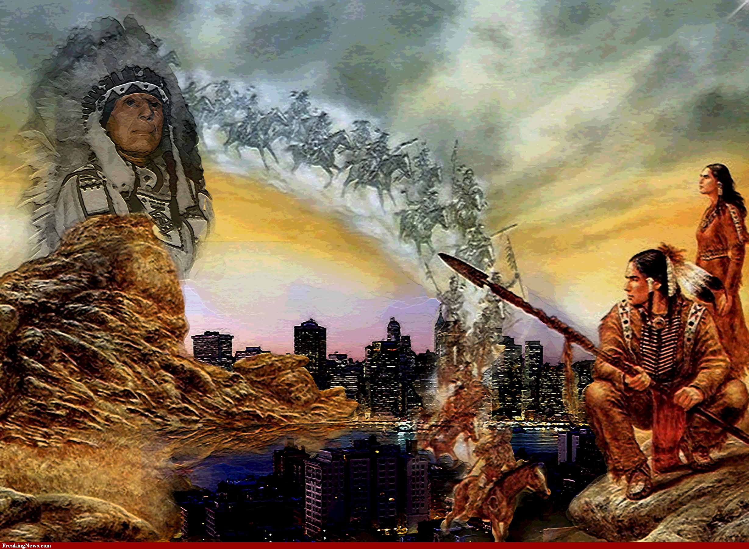 Free Native American Indian Wallpaper