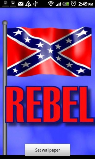 download free rebel flag live wallpaper gallery