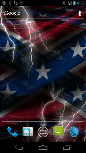 Free Rebel Flag Live Wallpaper