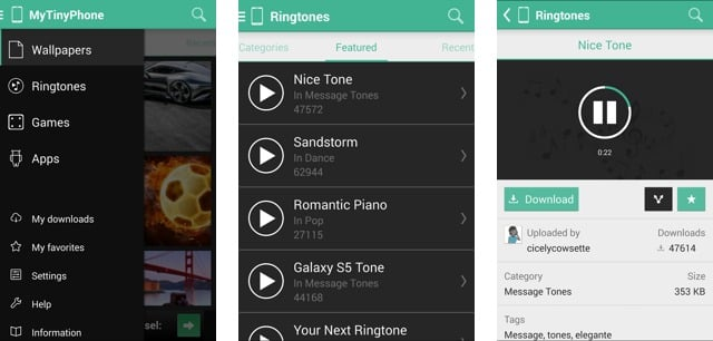 Free Ringtones And Wallpapers