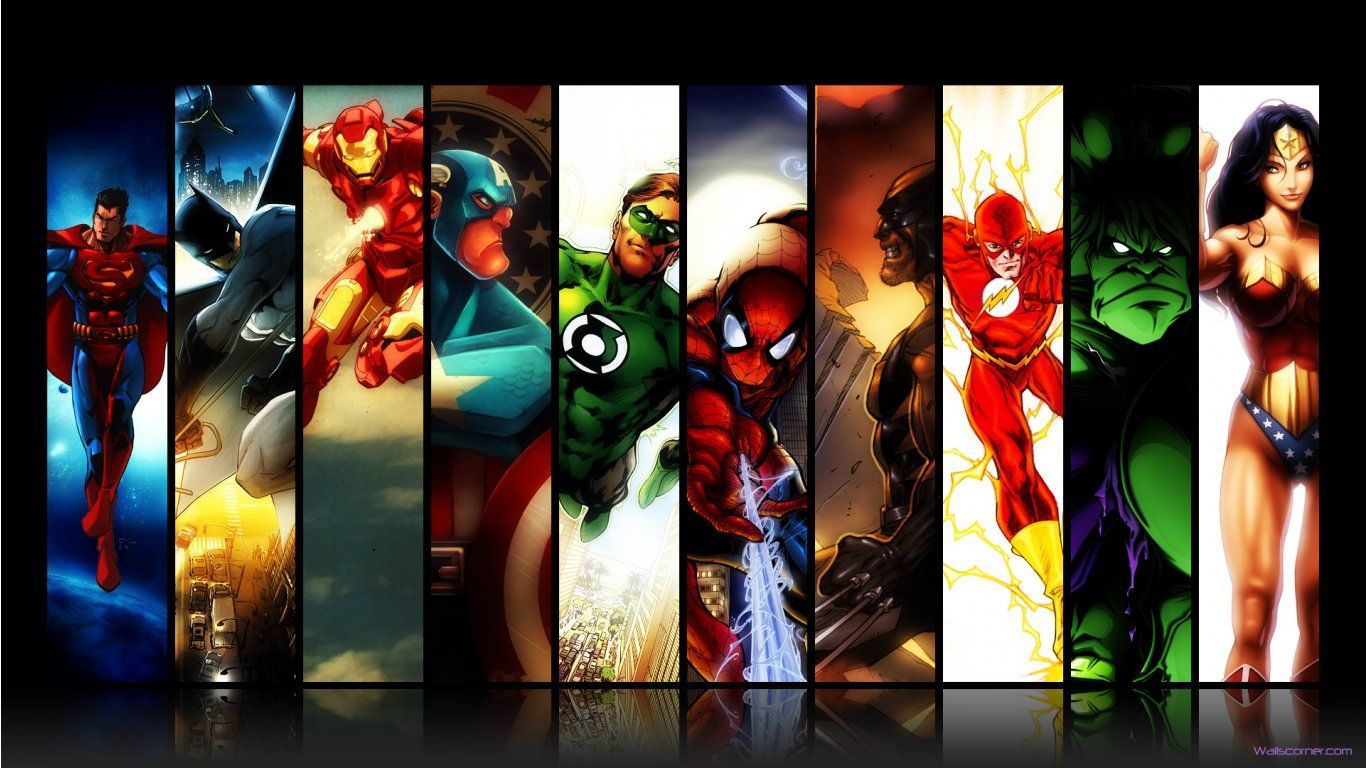 Free Superhero Wallpapers