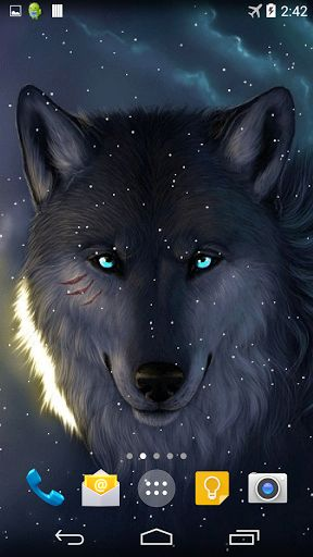 Free Wolf Live Wallpaper