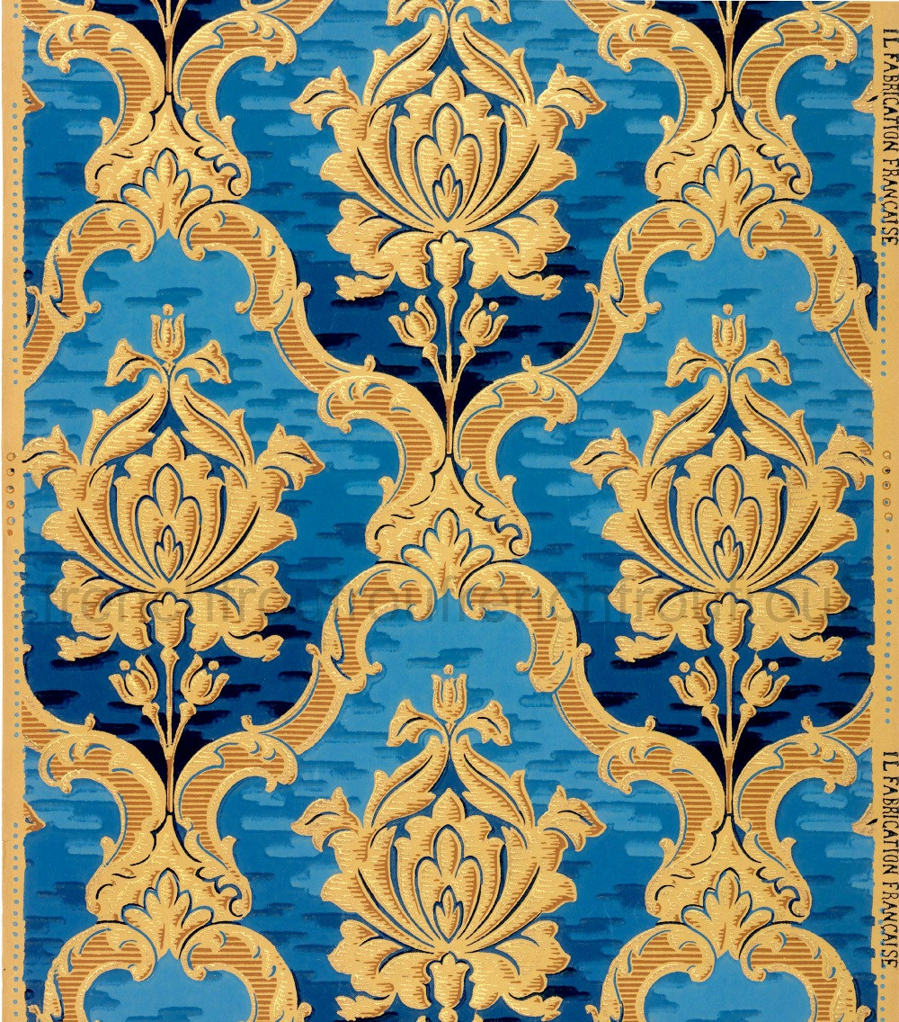 French Wallpaper Design
