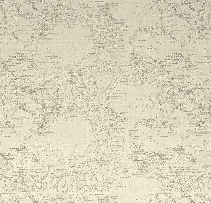 Fresco Map Wallpaper