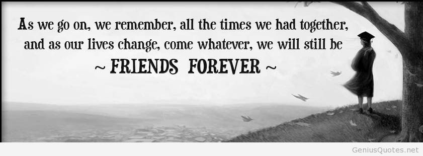 Friends Forever Wallpaper With Quotes