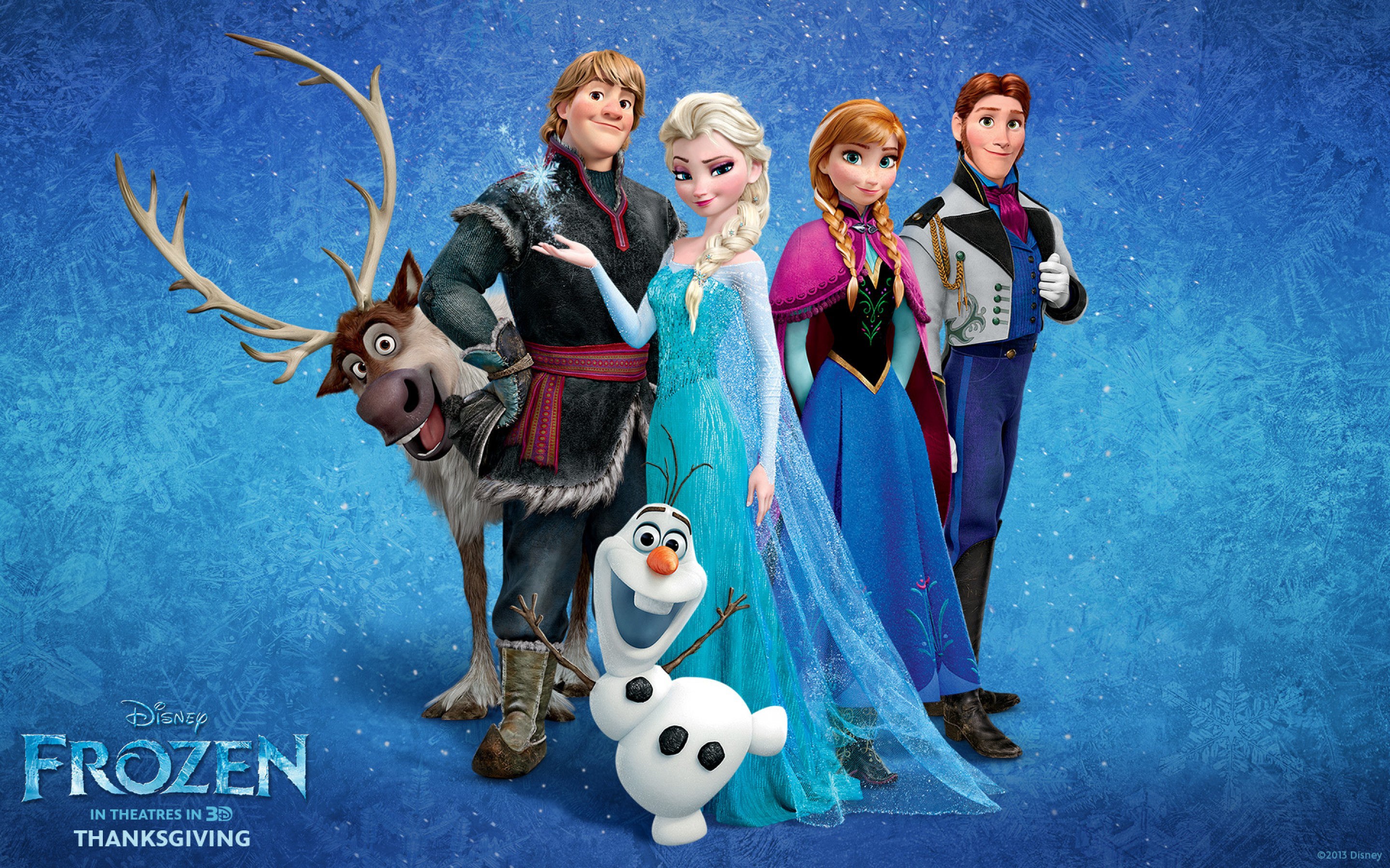 Frozen Movie HD Wallpaper