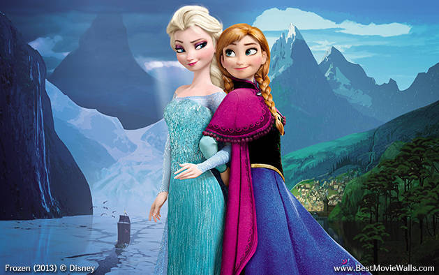 Frozen Wallpaper Anna And Elsa