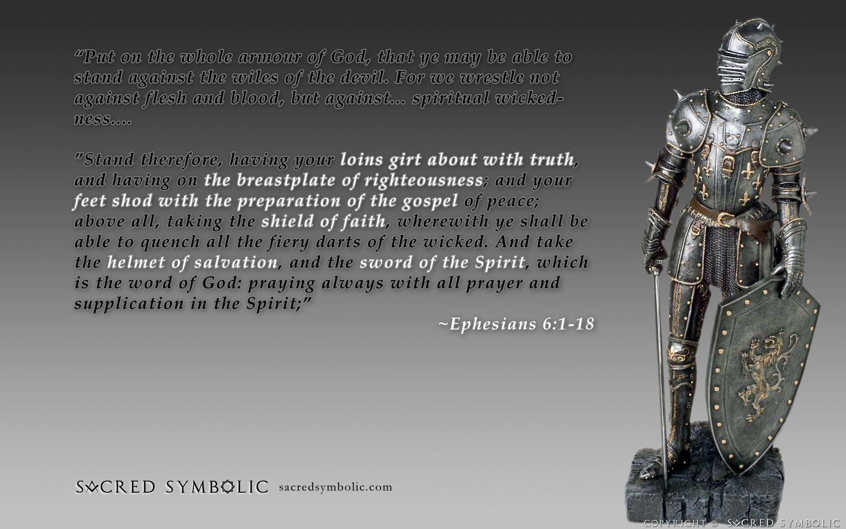 Full Armor Of God Wallpaper