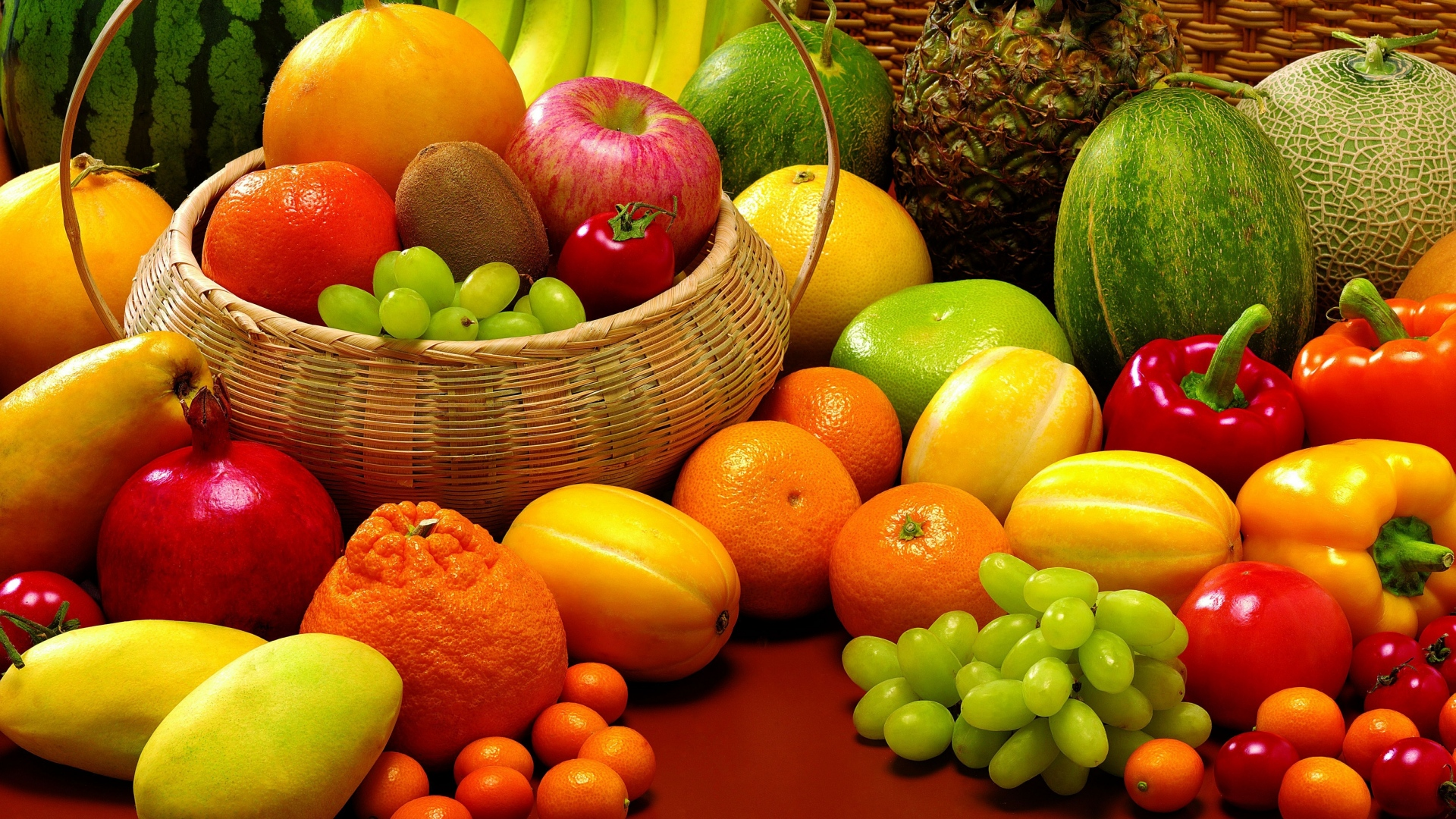 Full HD Fruits Wallpaper