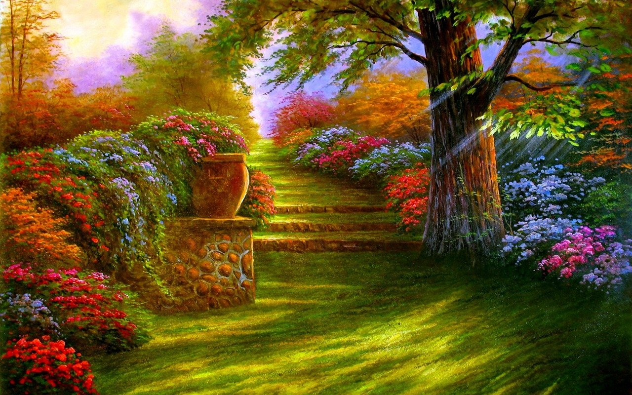 Download Full HD Garden Wallpaper Gallery